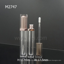 Clear Double Wall Square High Quality Empty Lip Gloss Containers
