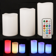 Environmental friendly flameless outdoor LED candle
