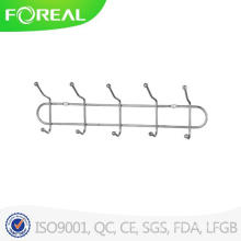 Metal 5-Hook Rack Toalhas Clothes Wall Hanger