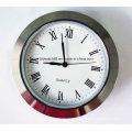 Japan Movement 65mm Small Clock Inserts Metal Casing
