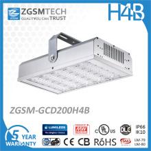 Luz alta impermeável da baía do armazém industrial da iluminação do diodo emissor de luz do lúmen 200W alto