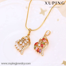 31306 Xuping fashion jewelry gold plated pendant with many Zircon