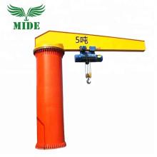 workshop used floor mounted jib crane