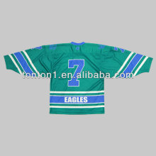 Jerseys por encargo del hockey sobre hielo Sublimation / Tackle Twill / Hockey Bordado Jersey de hockey de encargo