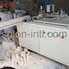 Sawdust timber Making Cutter Block Wood Pallet Machine