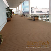 New Technology Mixcolor Wood Grain Decking