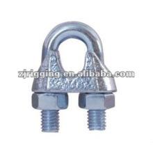 DIN741 Clip de câble métallique malléable galvanisé