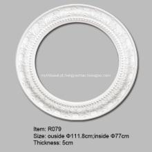 Anéis grandes de teto de PU para luzes