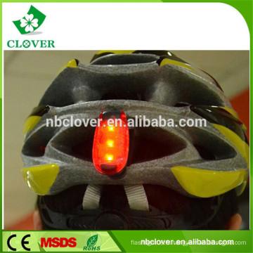 Lumière de casque de cyclisme à 3 lumières avec clip