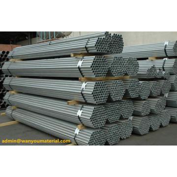 Tubo de acero galvanizado HDG / tubo de acero galvanizado para la construcción