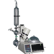 High Quality Chemical Rotary Vacuum Evaporator,With Digital Display Of Rotation Speed And Temperature And Hand Lift