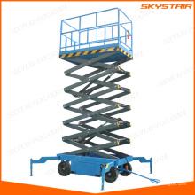 levantamiento de escaleras aéreas