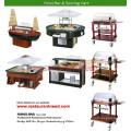 Hot Sale Buffet Warmer \ Soup Station \ Food Bar \ Serving Cart