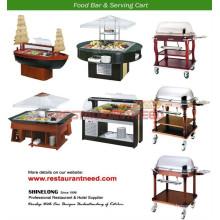 2017 Hot Sale Buffet Server \ Buffet en bois