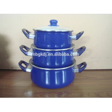 3pcs enamel dinner & cassrole sets  3pcs enamel dinner & cassrole sets