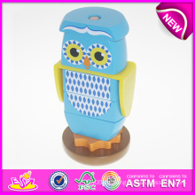Neues Design Holz DIY Spielzeug Tier Spielzeug für Kinder, Holzspielzeug DIY Spielzeug Puzzle für Kinder, Hohe Qualität Baby DIY Spielzeug 3D Puzzle W13D059