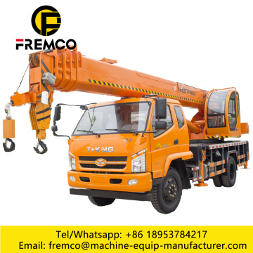 T-King Truck Crane with Five Hydraulic Outrigger
