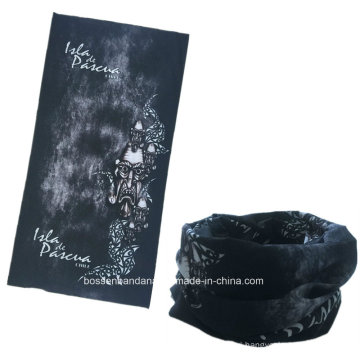 OEM Produce Customized Logo Microfiber Printed Promotional Multifunctional Seamless Sports Headscarf Buff Bandana