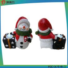 Santa Claus Polyresin Night Light Mini USB Bluetooth Speaker