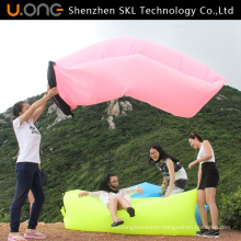 Factory Wholesale Customize New Nylon Inflatable Sleeping Bag Laybags
