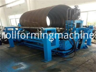 Packaged Culvert Pipe Corrugated Panel Roll Forming Machines