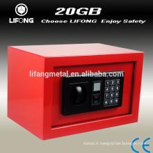 Boîte de sécurité bon marché coloré digital home dépôt