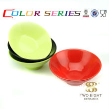 Korean restaurant modern dinnerware ceramic baby bowl