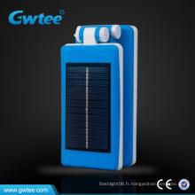 Panneau solaire pliable à l'intérieur lampe de table sans fil rechargeable