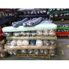 CVC spandex garment fabric stock for pants or shirt
