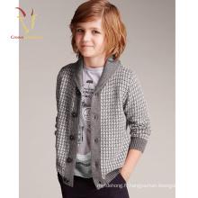 Nouveau design Intarsia modèles pour enfants Cardigan bébé garçon Cardigan Sweater