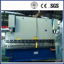Máquina de plegado hidráulico del CNC de la placa de metal para la venta (WC67Y-100T 3200)