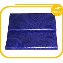 Африканский жаккард Гвинея brocade 100%хлопок пряжа окрашенная ткань Материал ткань ткань для свадьба