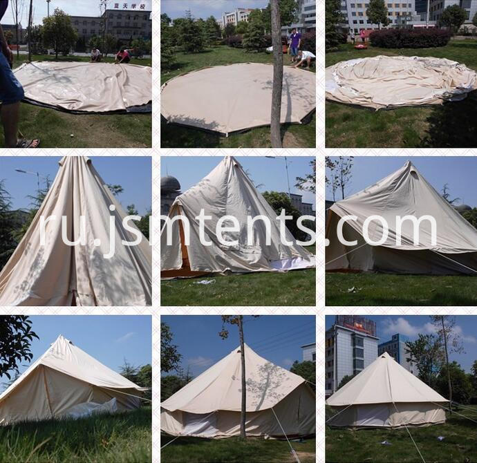 Cotton Canvas Tarp Tent