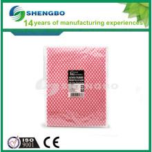 Домашняя чистящая ткань 30 * 50 см КРАСНЫЙ ГОЛУБОЙ