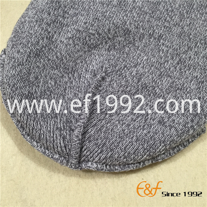 double layer knitted beanie