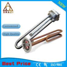 1.5kw elemento de calefacción eléctrico para el generador de vapor y el elemento de suministro directo de la fábrica