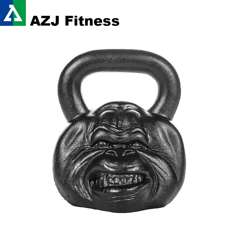 54 LB Orangutan Animal Face Kettlebell