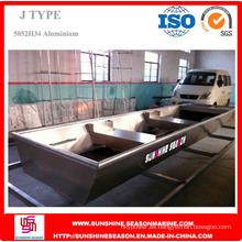Barco de aluminio de 3,6 m para pescar con certificado SGS (J12)