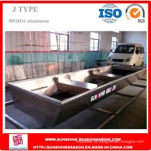 Barco de alumínio de 3,6 m para pesca com certificado SGS (J12)
