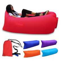 New Design Beach Inflatable Lazybones Inflatable Sleeping Bag