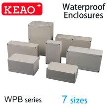 7 Größen IP65 ABS-Gehäuse wetterfestes elektronisches Gehäuse wasserdichtes elektrisches Kunststoff wasserdichtes Gehäuse Kabelanschlusskasten