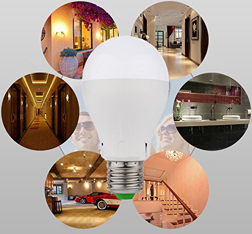 emergency rechargeable led bulb light