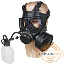 Máscara de gás militar com o padrão de beber dispositivo EN136