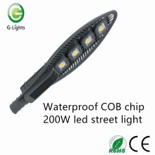 Waterproof COB chip 200W led street light