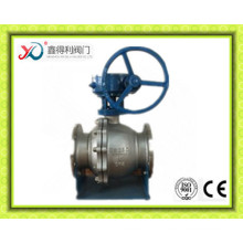 China Factory API 6D Flange A105 Trunnion Ball Valve