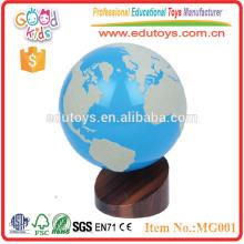 Montessori Pädagogische Spielzeug Montessori Lehre Aids Welt Globus Von Land Und Wasser