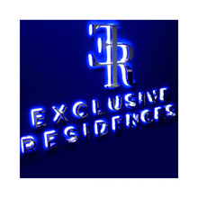Back Lit Sign Indoor Outdoor LED Letters Sign Custom for Building Mall Shop channel letter signs custom color and size