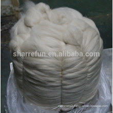 Sharrefun high quality 100% Mongolian Cashmere Tops Light Grey 16.5mic/46mm