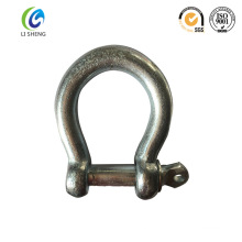 Large Bow Shackle With Screw Collar Pin