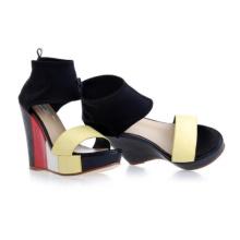 Sandalias de plataforma para mujer (Hcy02-762)